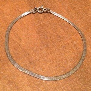Sterling Silver Serpentine Bracelet